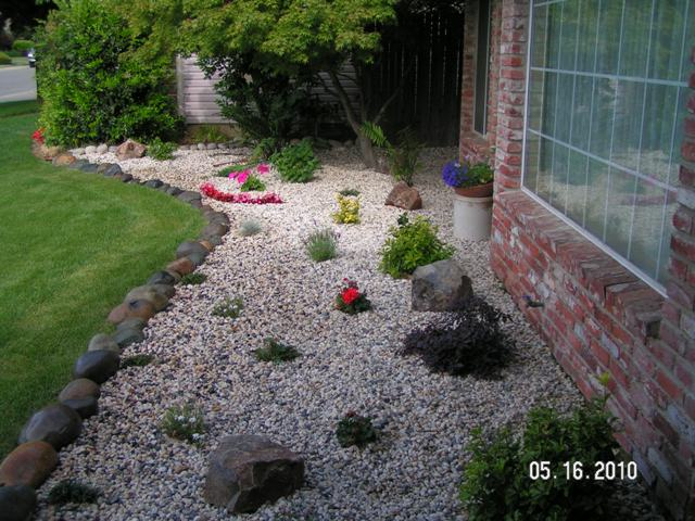Total landscape concepts project gallery general for White gravel landscaping